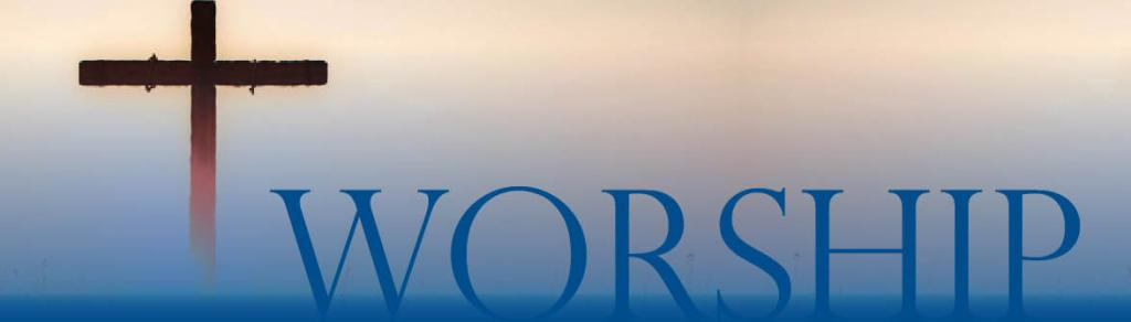 church - worship banner